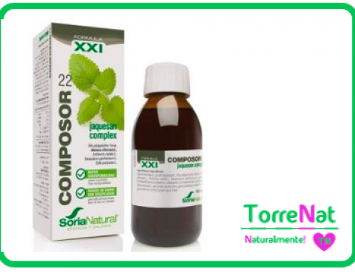 Composor 22 Jaquesan complex XXI 100 ml. SORIA NATURAL